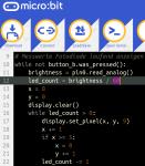 IF-9-2c_Microbit Python-Editor Fotodiode